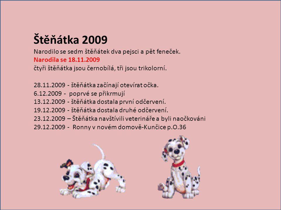 Táta CAR Máma DOROTKA Náš RONNY * 18.11.2009 Vid č e