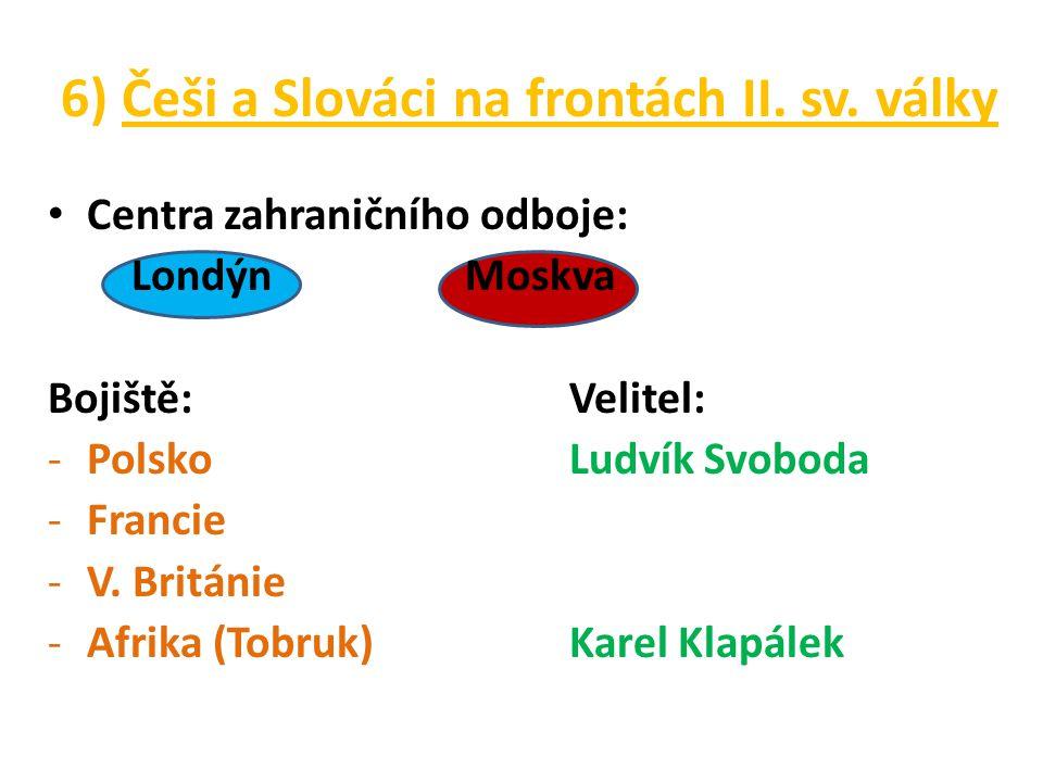 6) Češi a Slováci na frontách II.sv.