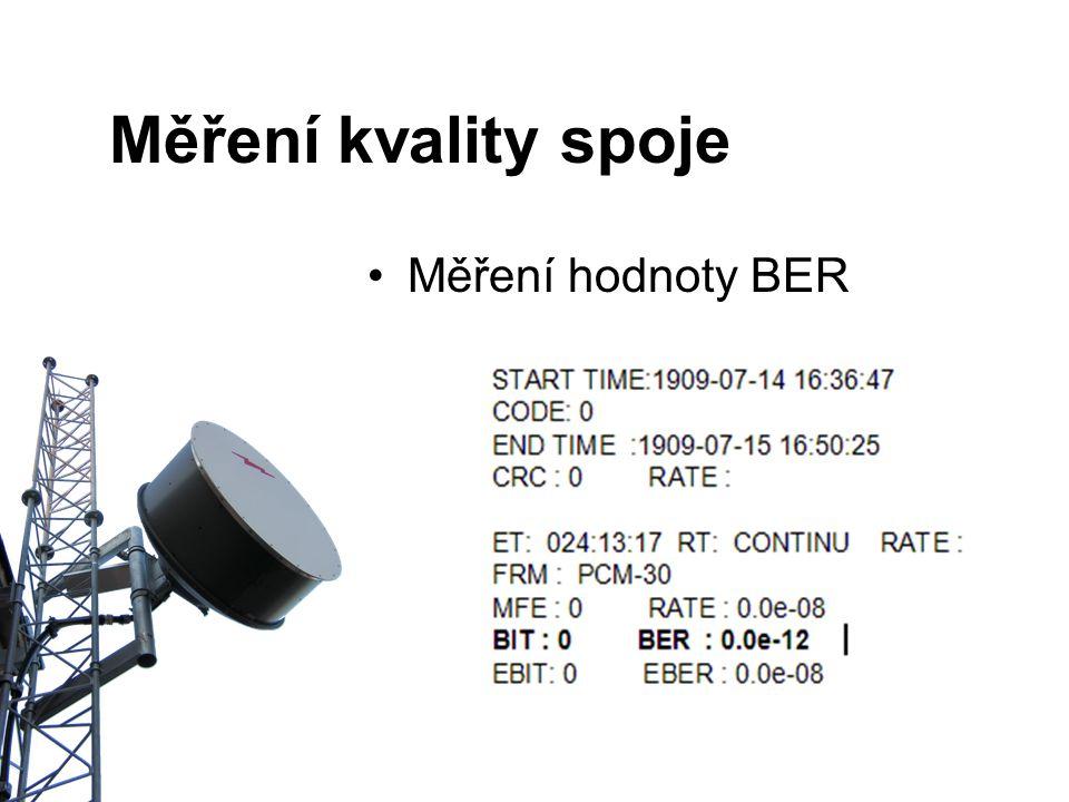 Měření hodnoty BER