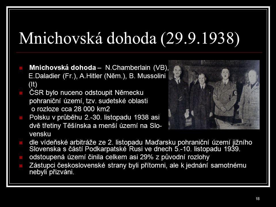 19 Druhá republika (1.10.1938-14.3.1939) 6.
