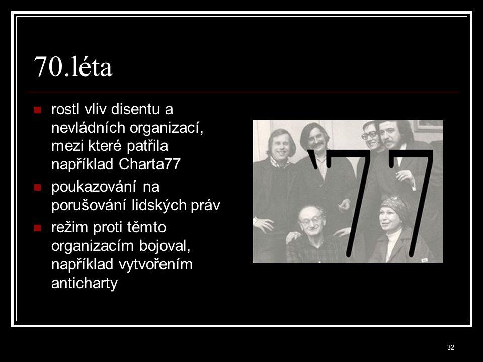 33 80.léta perestrojka byla skupina ekonomických reformních kroků zahájených v červenci 1985 v SSSR tehdejším Generálním tajemníkem Michailem Gorbačovem úkolem byla především restrukturalizace sovětské ekonomiky širší změny k demokratizaci společnosti částečná decentralizace a zvýšení samostatnosti podniků národnostními a náboženskými problémy a vysokým vojenským rozpočtem, který dosahoval desítek procent HDP, dovedlo SSSR až k rozpadu v konečném důsledku to vedlo k pádu všech komunistických režimů v Evropě a ukončení studené války v Československu proběhla tzv.