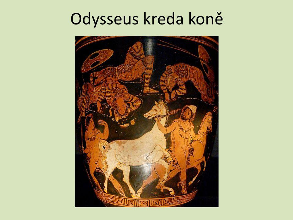Odysseus kreda koně