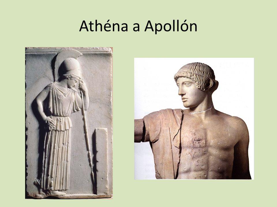 Athéna a Apollón