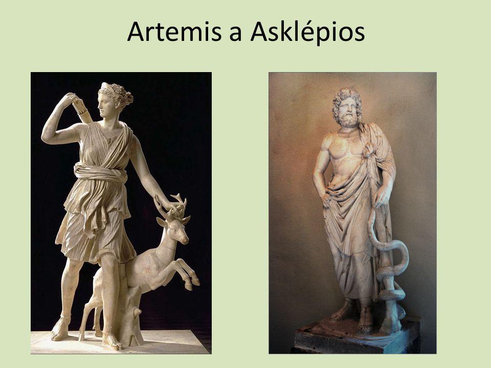 Artemis a Asklépios
