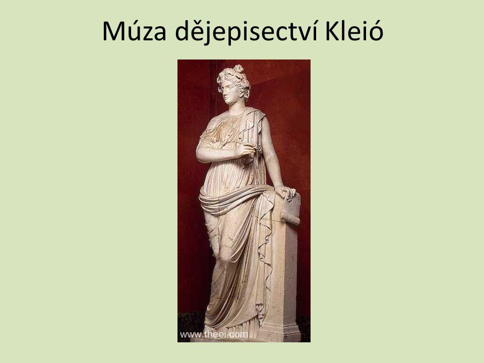 Múza dějepisectví Kleió
