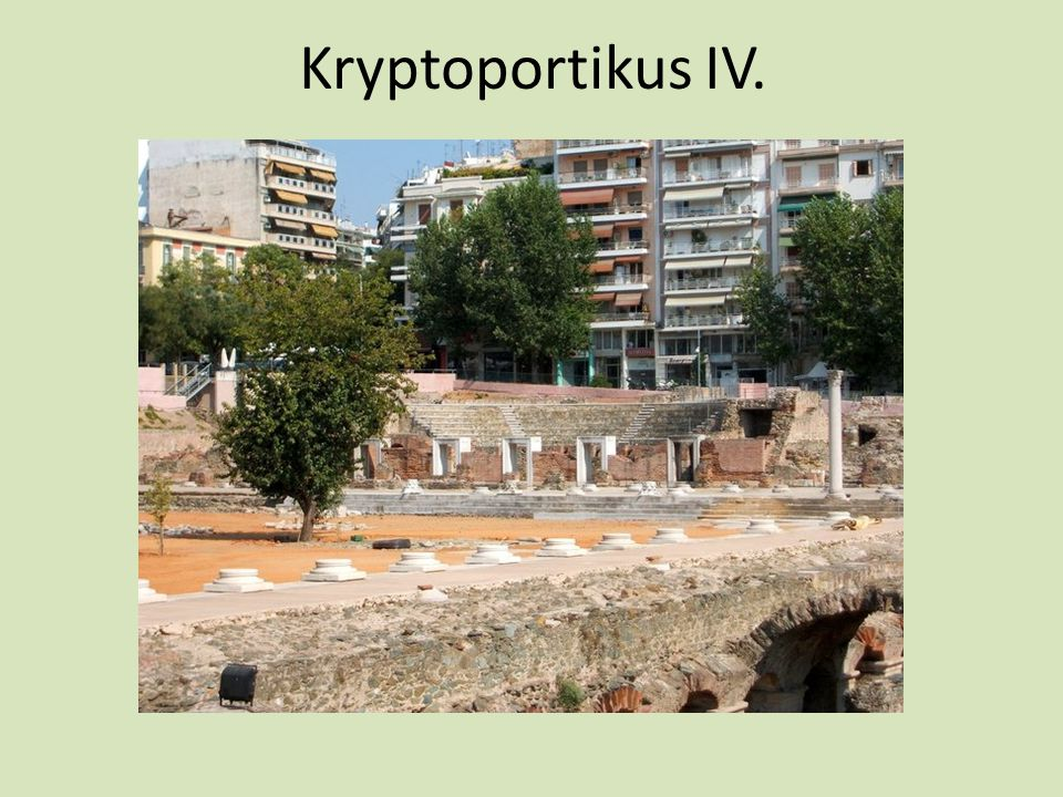 Kryptoportikus IV.