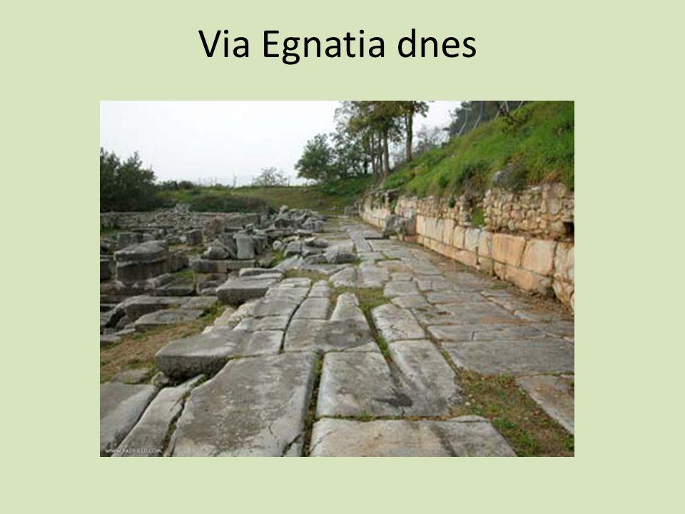 Via Egnatia dnes