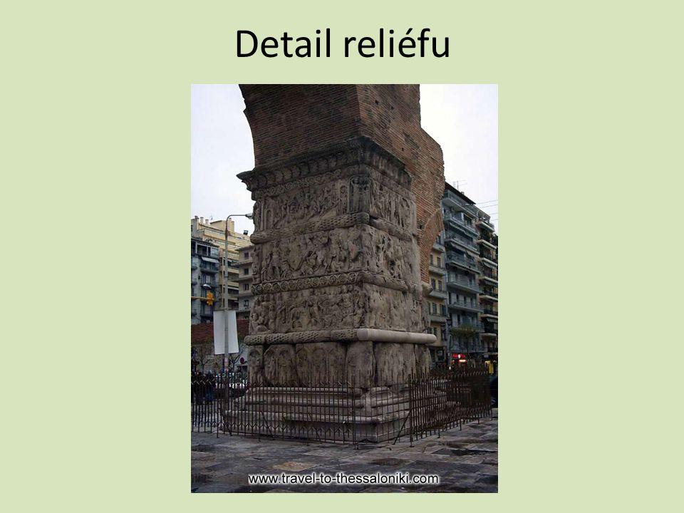 Detail reliéfu