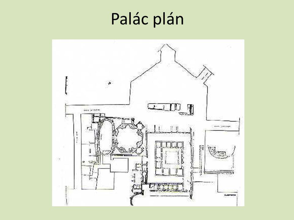 Palác plán