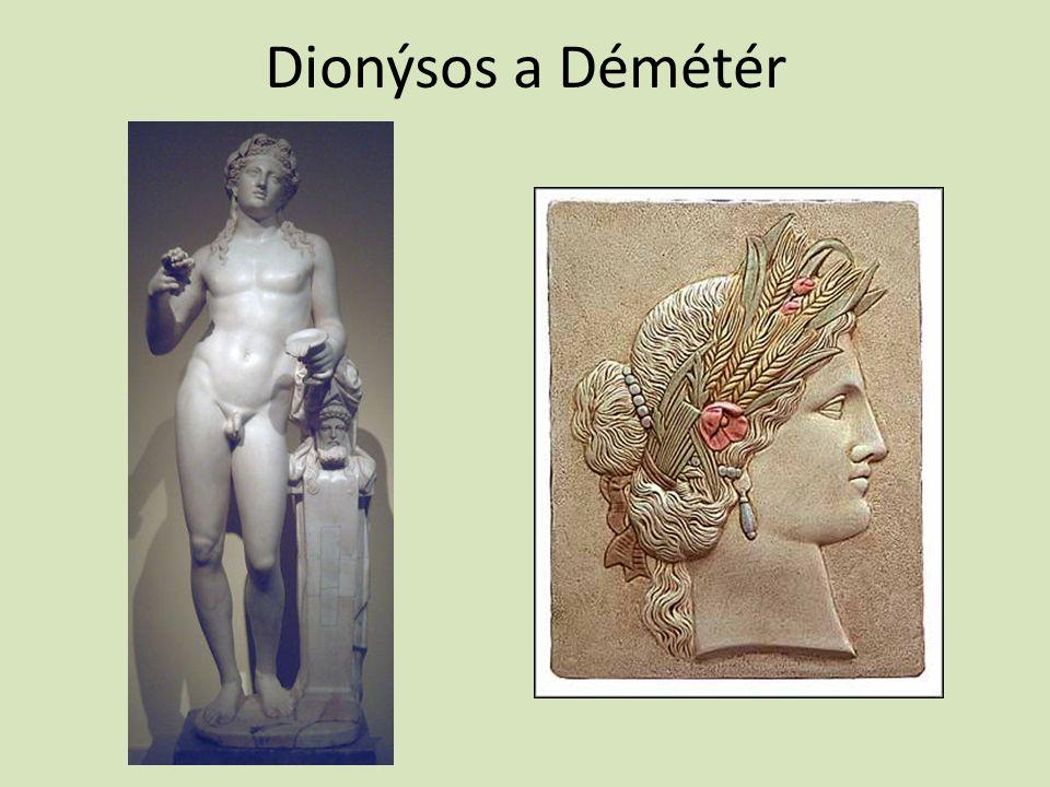 Dionýsos a Démétér