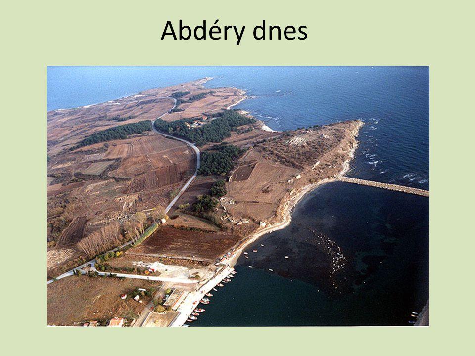 Abdéry dnes