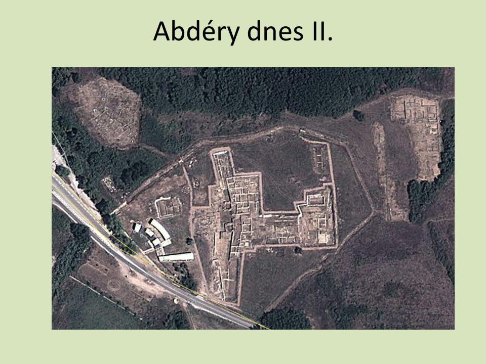 Abdéry dnes II.
