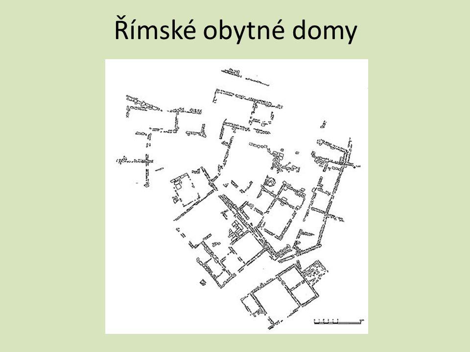 Římské obytné domy