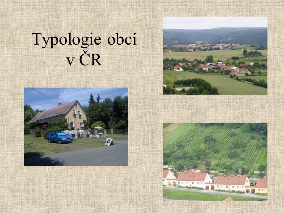 Typologie obcí v ČR