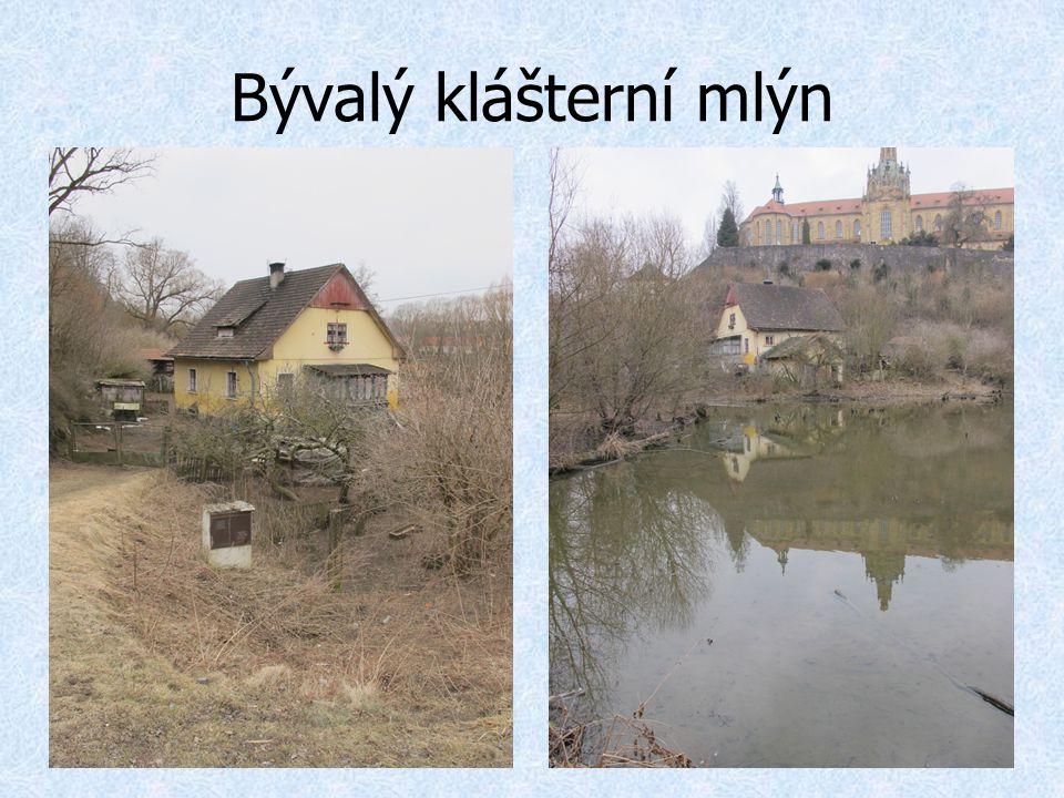 Bývalý klášterní mlýn