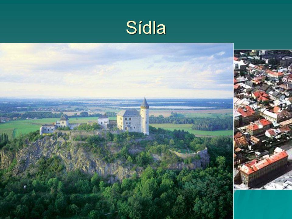 Sídla  Pardubice (91 000 obyvatel, univerzita)  okresy: Chrudim, Svitavy, Ústní nad Orlicí  převaha malých sídel do 10 000 obyvatel  dříve německé