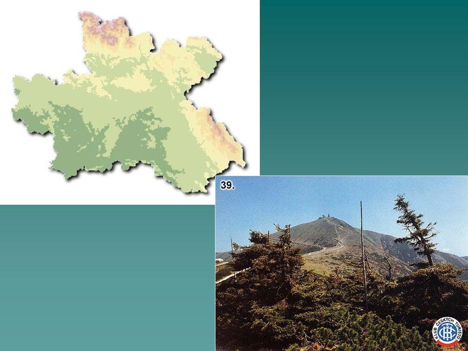 Poloha  většinu území zabírá Polabí, Orlické hory, Č-M vrchovina  hlavní evropské rozvodí (Králický Sněžník)