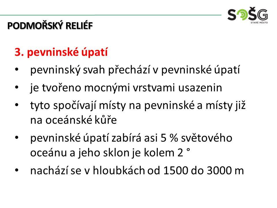 PODMOŘSKÝ RELIÉF 3.