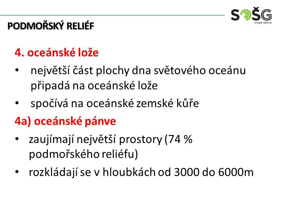 PODMOŘSKÝ RELIÉF 4.