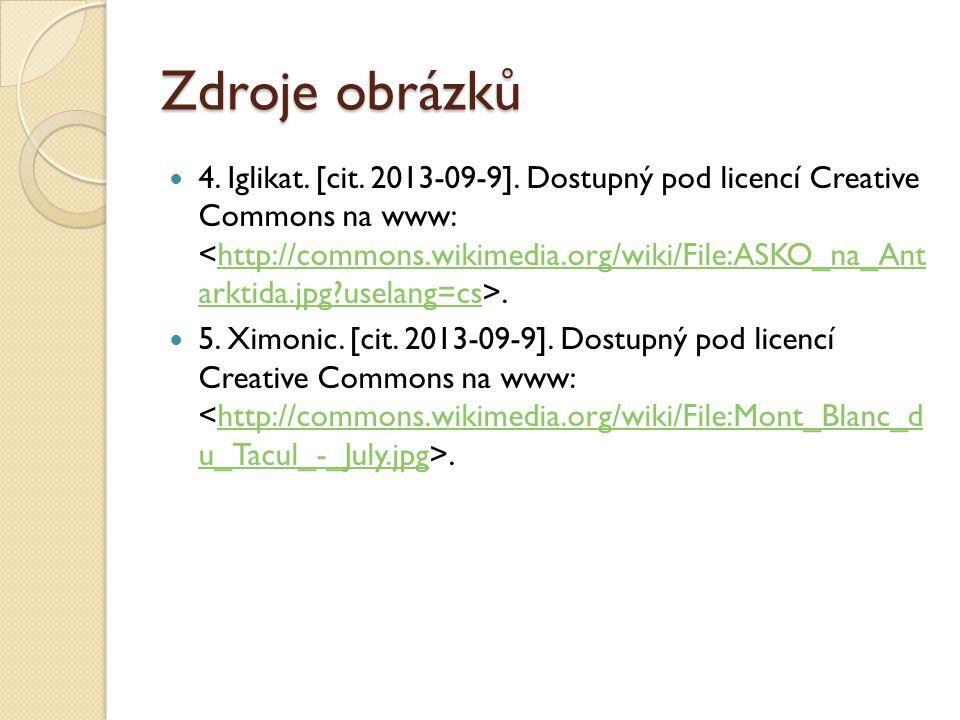 Zdroje obrázků 4. Iglikat. [cit. 2013-09-9].
