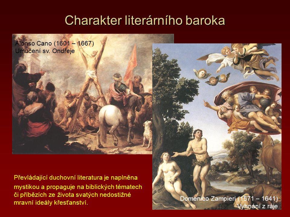 Slovesná tvorba v době baroka 2.