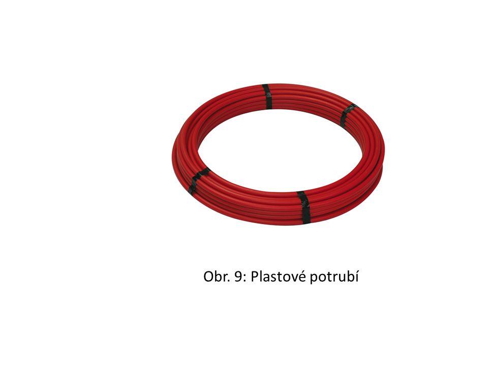 Obr. 9: Plastové potrubí