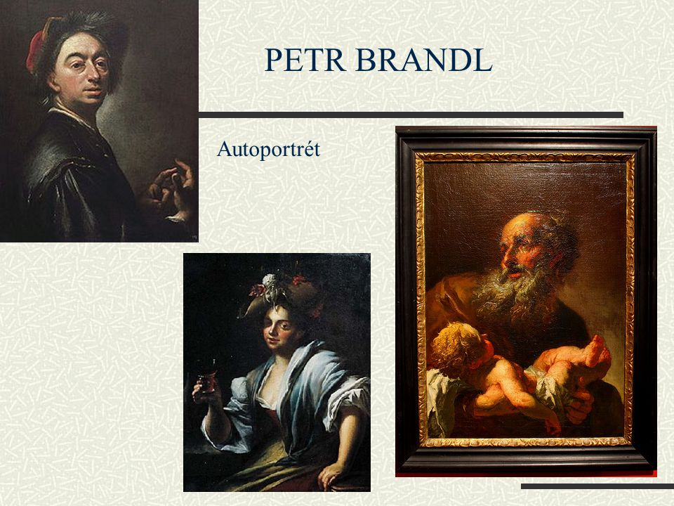 Autoportrét PETR BRANDL