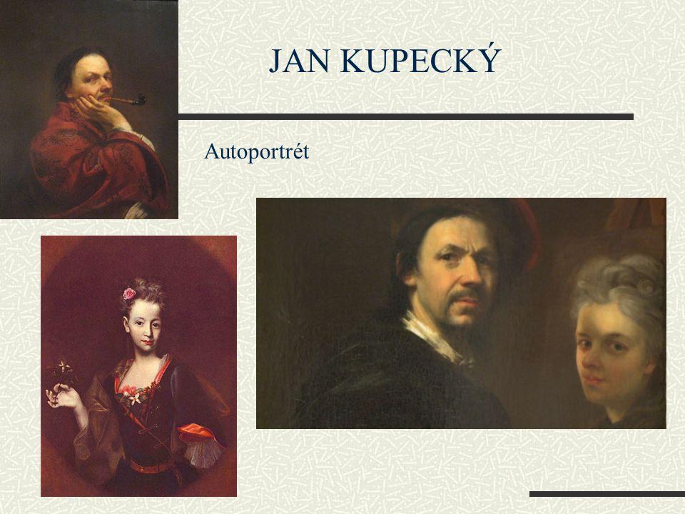 JAN KUPECKÝ Autoportrét
