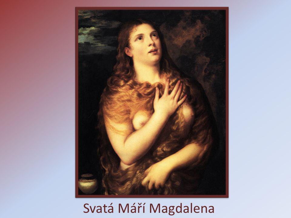 Svatá Máří Magdalena
