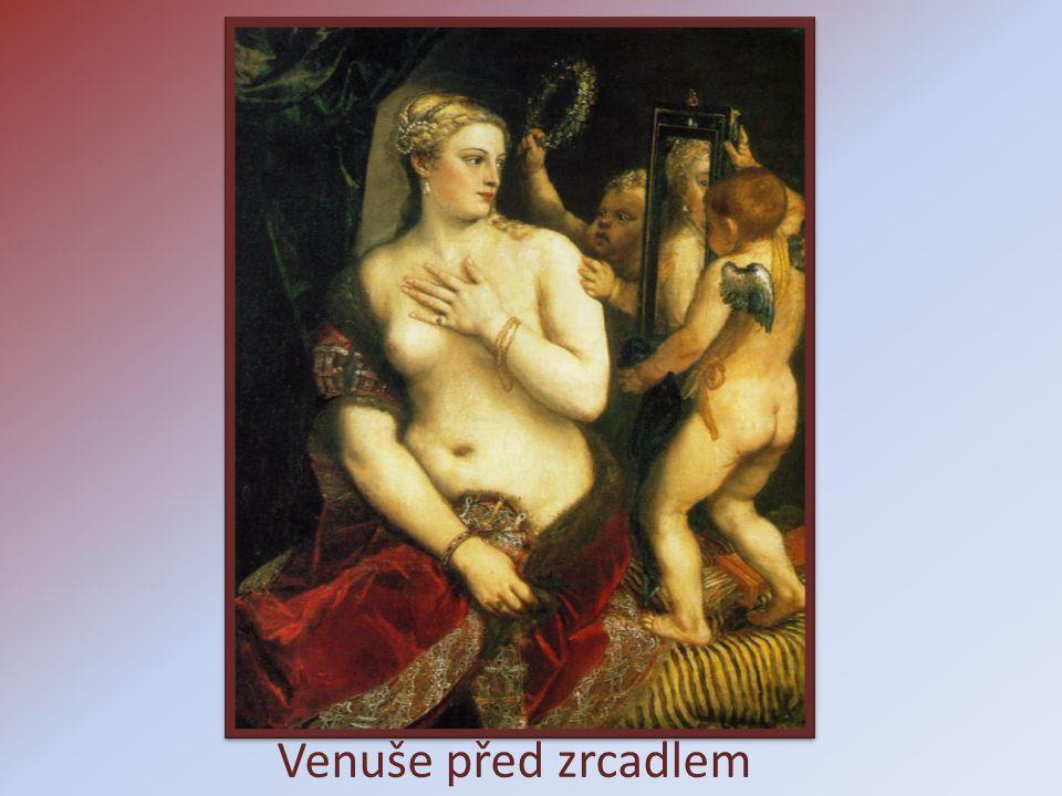 Venuše před zrcadlem