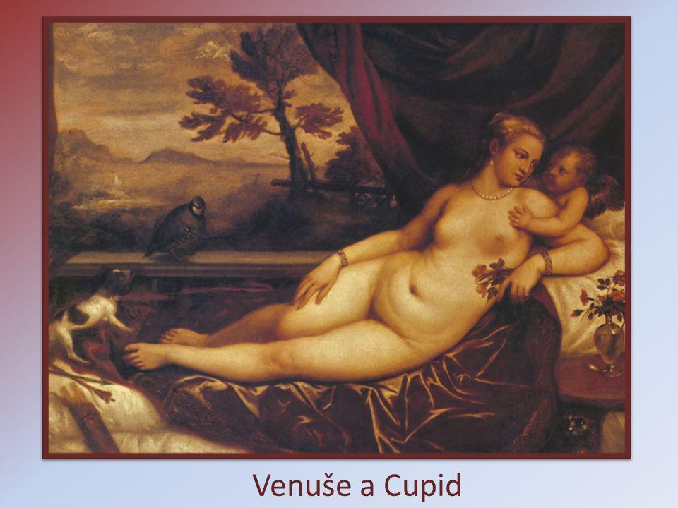 Venuše a Cupid