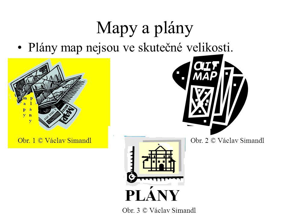 Mapy a plány Plány map nejsou ve skutečné velikosti. Obr. 1 © Václav SimandlObr. 2 © Václav Simandl Obr. 3 © Václav Simandl