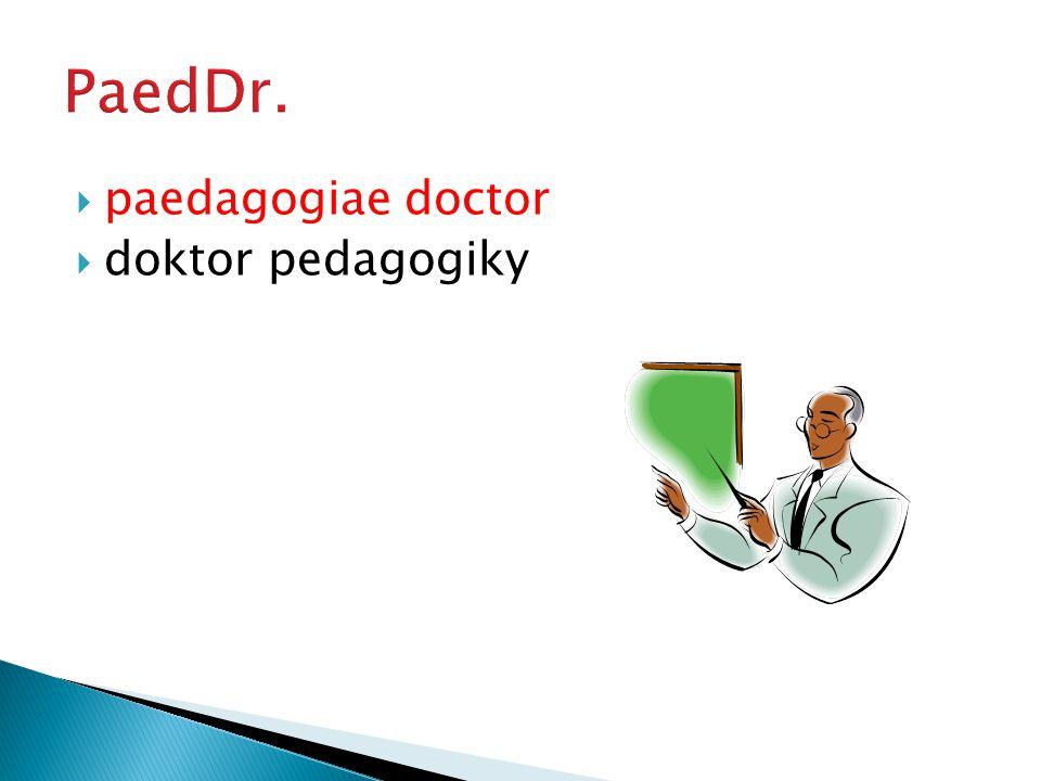  doctor philosophiae  doktor filozofie
