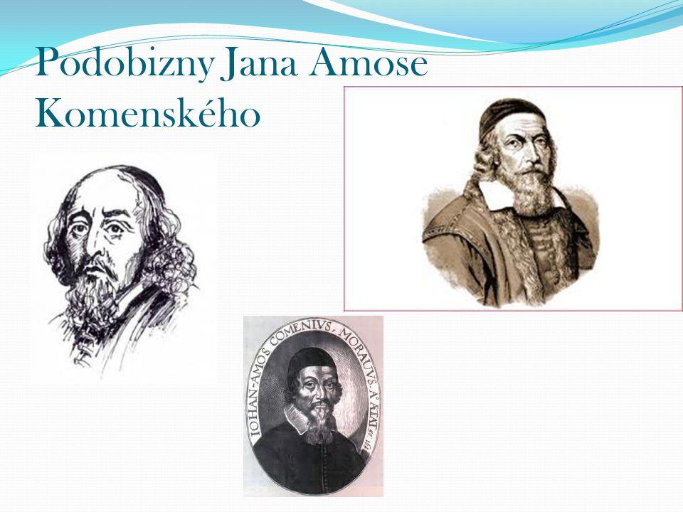Podobizny Jana Amose Komenského