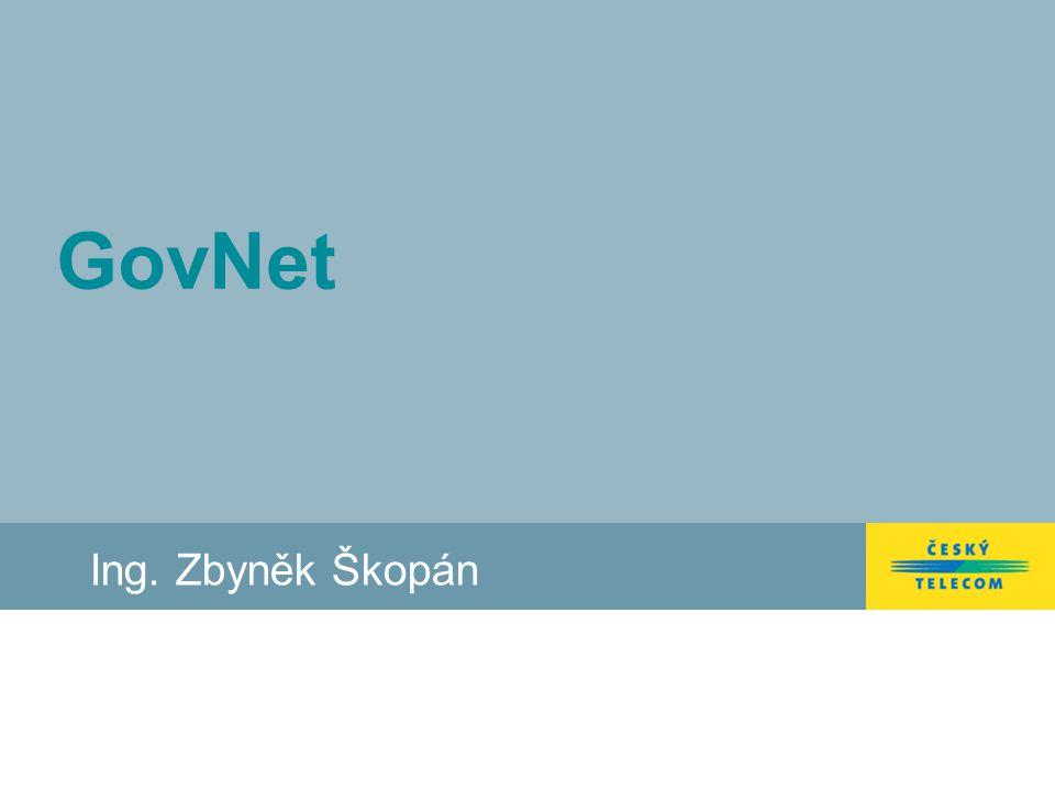 Strana 2 KI ISVS Služby GovNet I. Centrální podpora Uživatelů