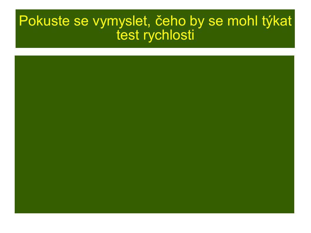 """Testové otázky ● úlohy typu """"jedna nesprávná odpověď : např.: """"Který z následujících dějů není formou oxidačního procesu? a) dýchání b) hnití c) destilace d) rezivění"""