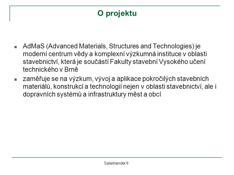 O projektu AdMaS (Advanced Materials, Structures and Technologies) je moderní centrum vědy a komplexní výzkumná instituce v oblasti stavebnictví, kter