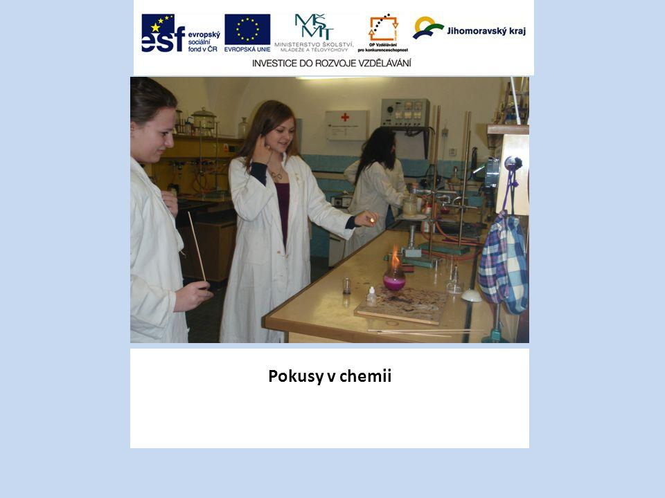 Pokusy v chemii