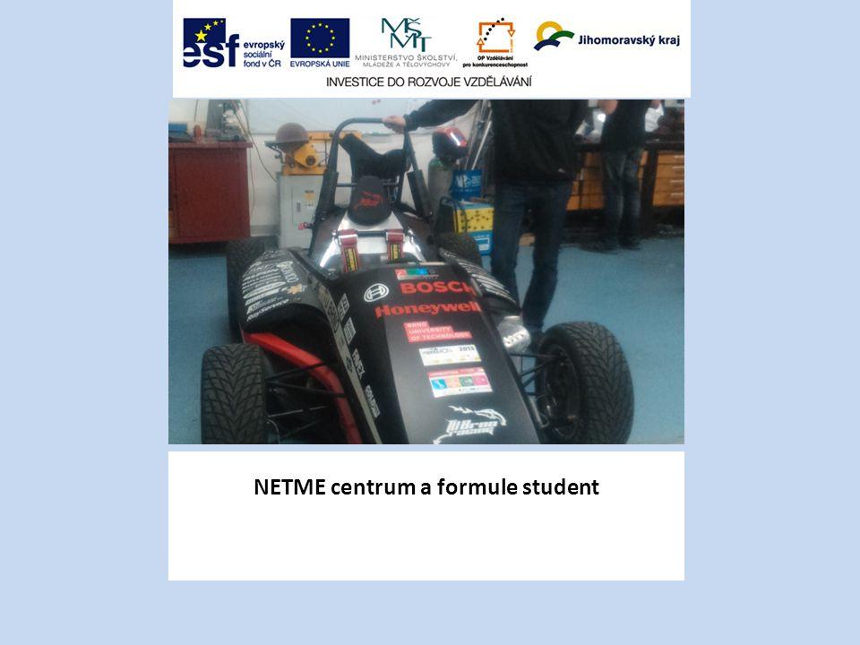 NETME centrum a formule student