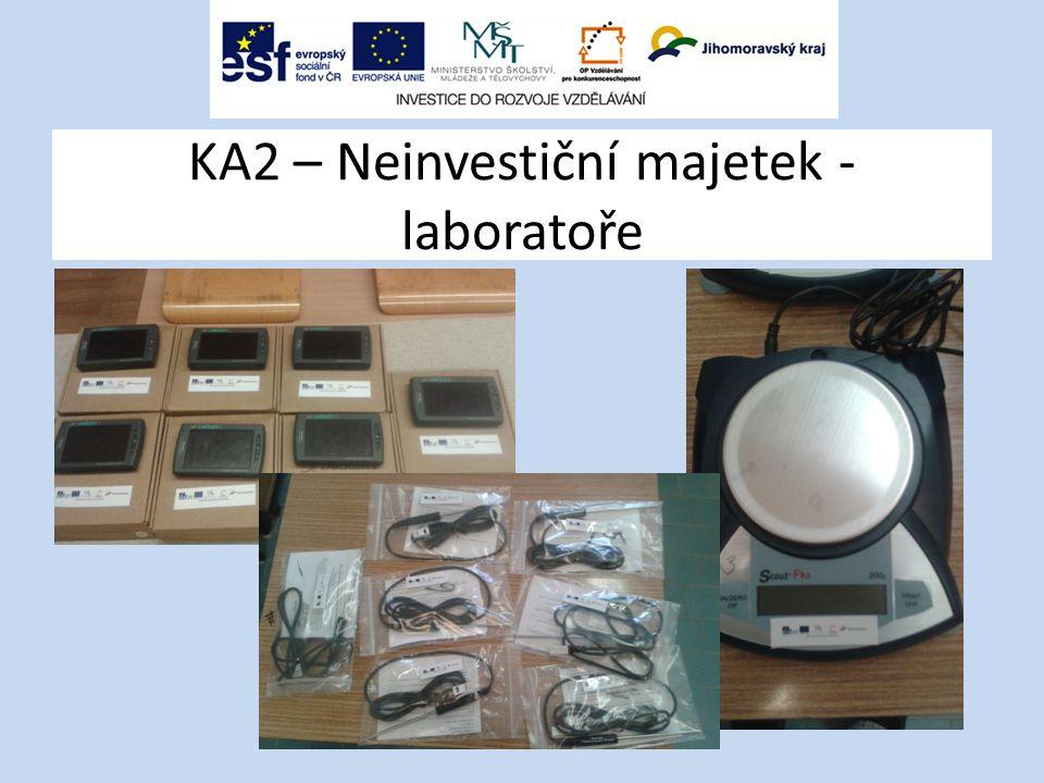 KA2 – Neinvestiční majetek - laboratoře
