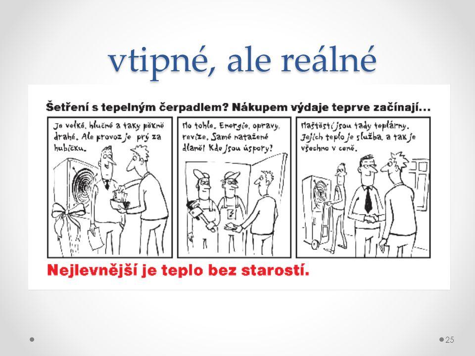 vtipné, ale reálné vtipné, ale reálné Komiks poskytly Teplárny Brno, a.s. 25