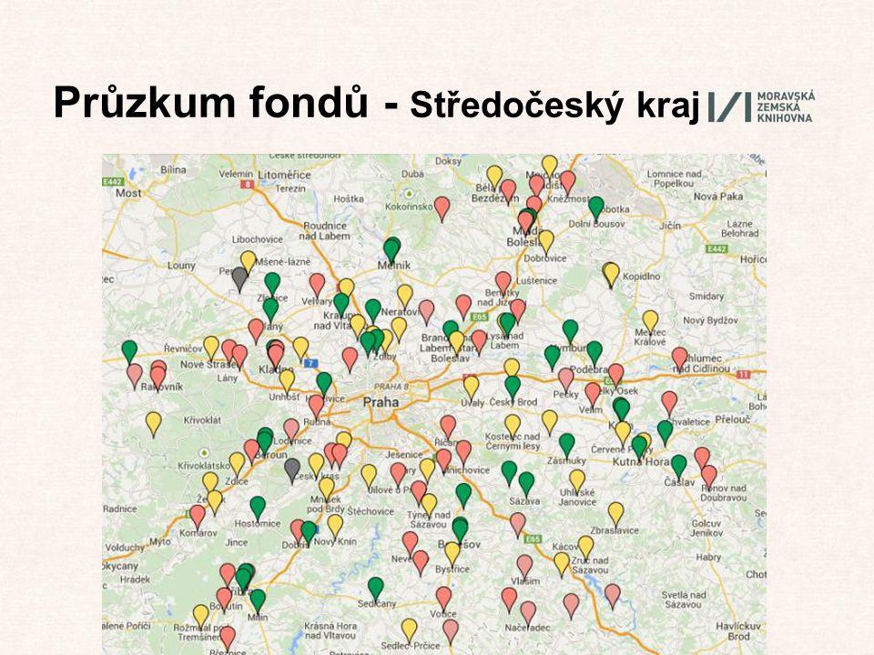 Průzkum fondů - Středočeský kraj