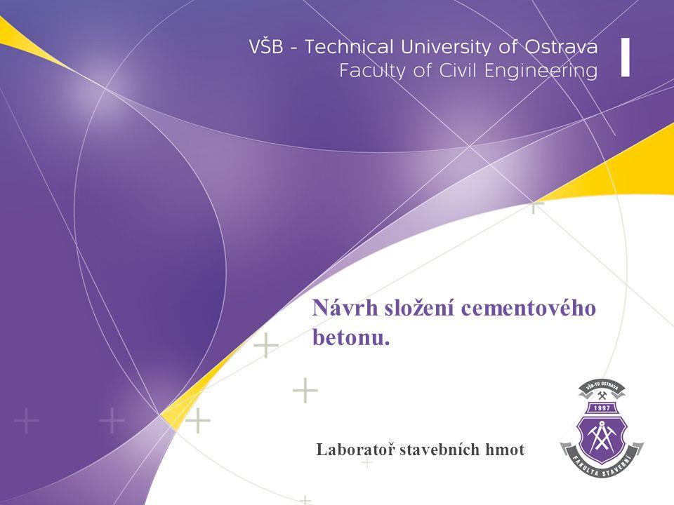 Schéma návrhu složení betonu 2 www.fast.vsb.cz