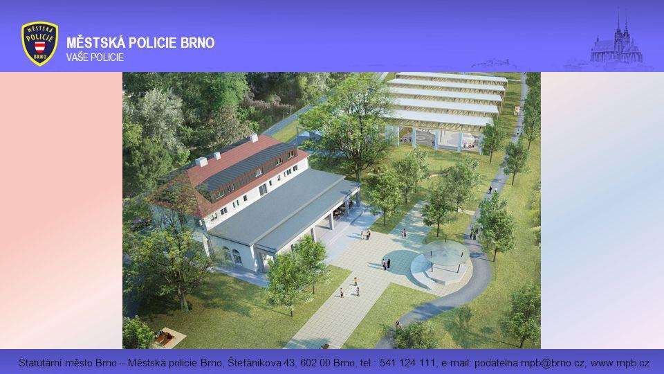 Statutární město Brno – Městská policie Brno, Štefánikova 43, 602 00 Brno, tel.: 541 124 111, e-mail: podatelna.mpb@brno.cz, www.mpb.cz MĚSTSKÁ POLICIE BRNO VAŠE POLICIE