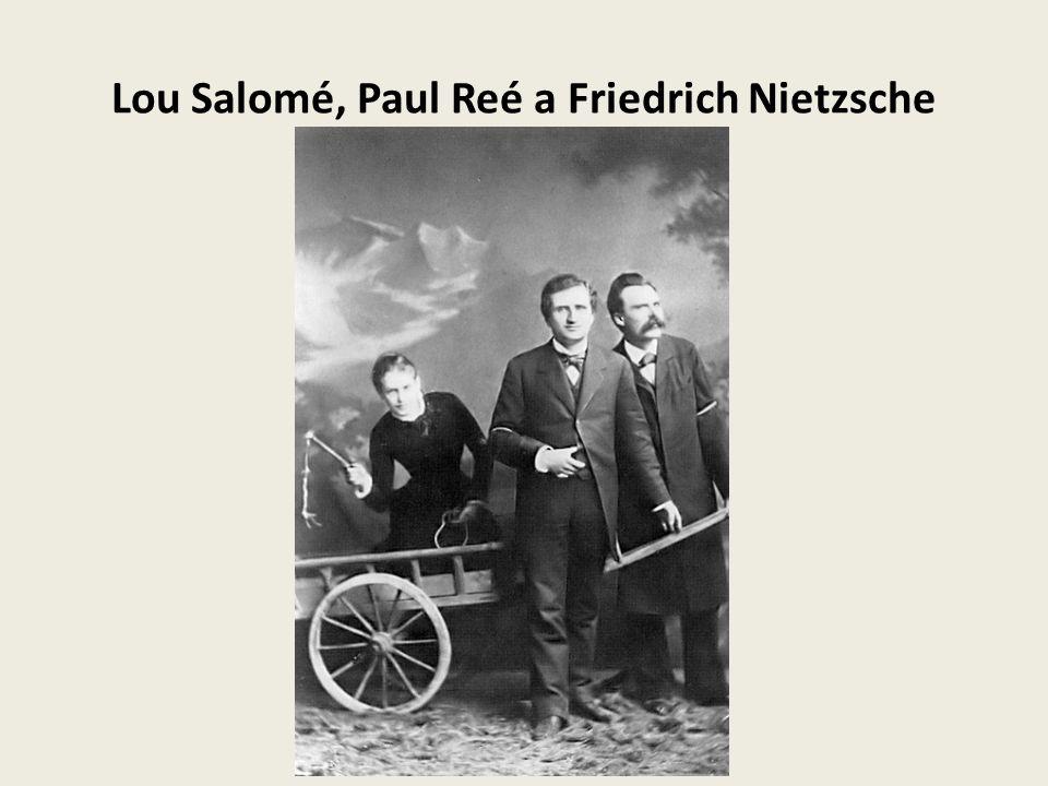 Lou Salomé, Paul Reé a Friedrich Nietzsche