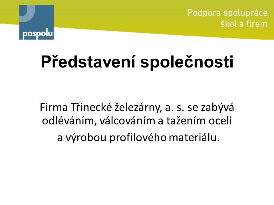 Představení společnosti Firma Třinecké železárny, a.