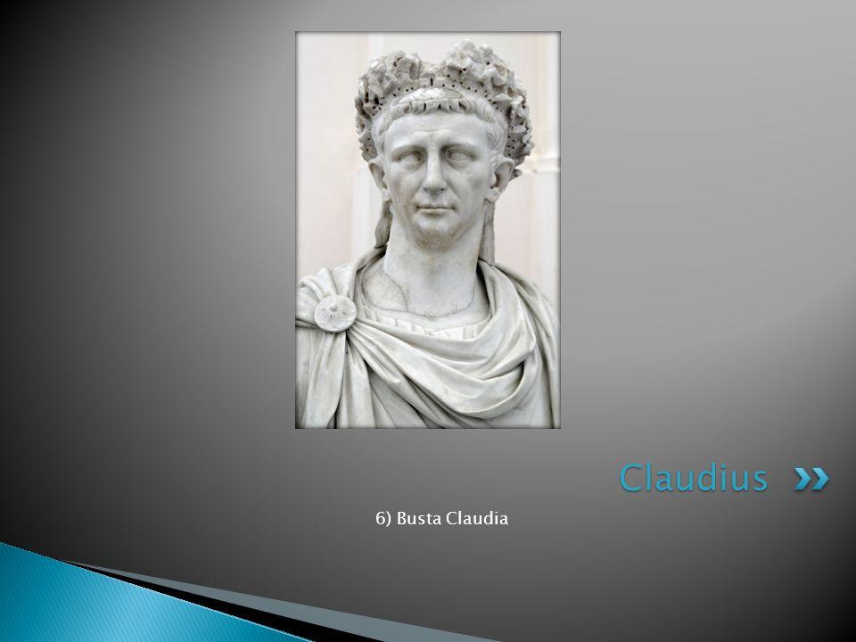 6) Busta Claudia Claudius
