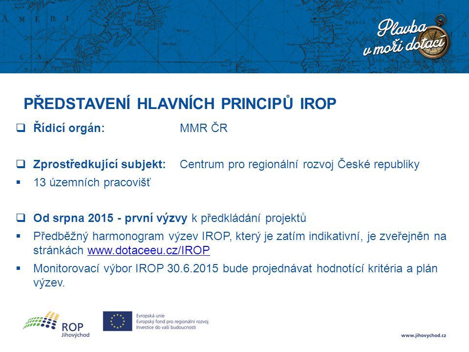 Název prioritní osy/oblasti intervence Alokace (EUR) + tematické rozdělení Prioritní osa 1 – Konkurenceschopné, dostupné a bezpečné regiony 1,56 mld.