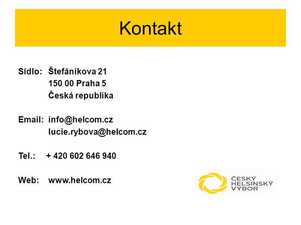 Kontakt Sídlo:Štefánikova 21 150 00 Praha 5 Česká republika Email:info@helcom.cz lucie.rybova@helcom.cz Tel.: + 420 602 646 940 Web:www.helcom.cz