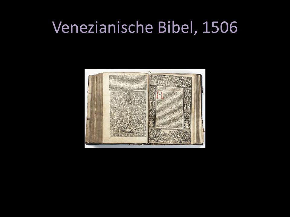 Venezianische Bibel, 1506